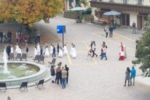 Erstkommunion_Dorfplatz
